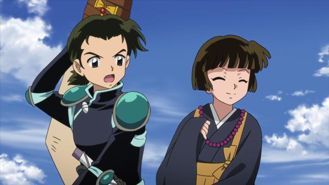 TVアニメ『半妖の夜叉姫』第22話のあらすじ&先行場面カットが公開! せつなが妖怪化!? 彼女を救うため、金烏や翡翠が戦場に駆けつける