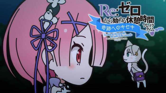 冬アニメ『リゼロ』第2期のミニアニメ22話がプレミア配信決定!