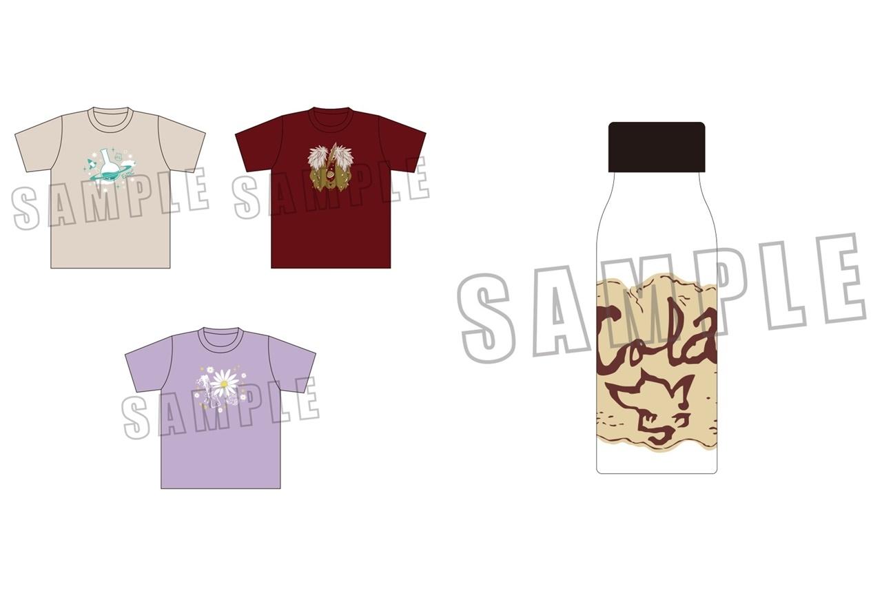 ACOSより『Dr.STONE』Tシャツ、クリアボトルが発売