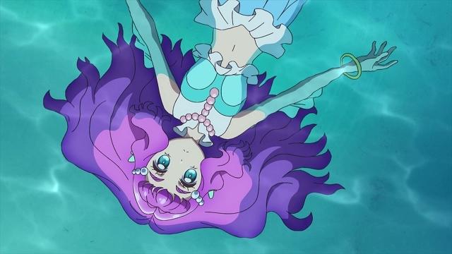 TVアニメ『トロピカル~ジュ!プリキュア』第2話「まなつとローラ!どっちのダイジが一番大事?」の先行カット到着! 涼村さんご(CV:花守ゆみり)も同じクラスだとわかり……