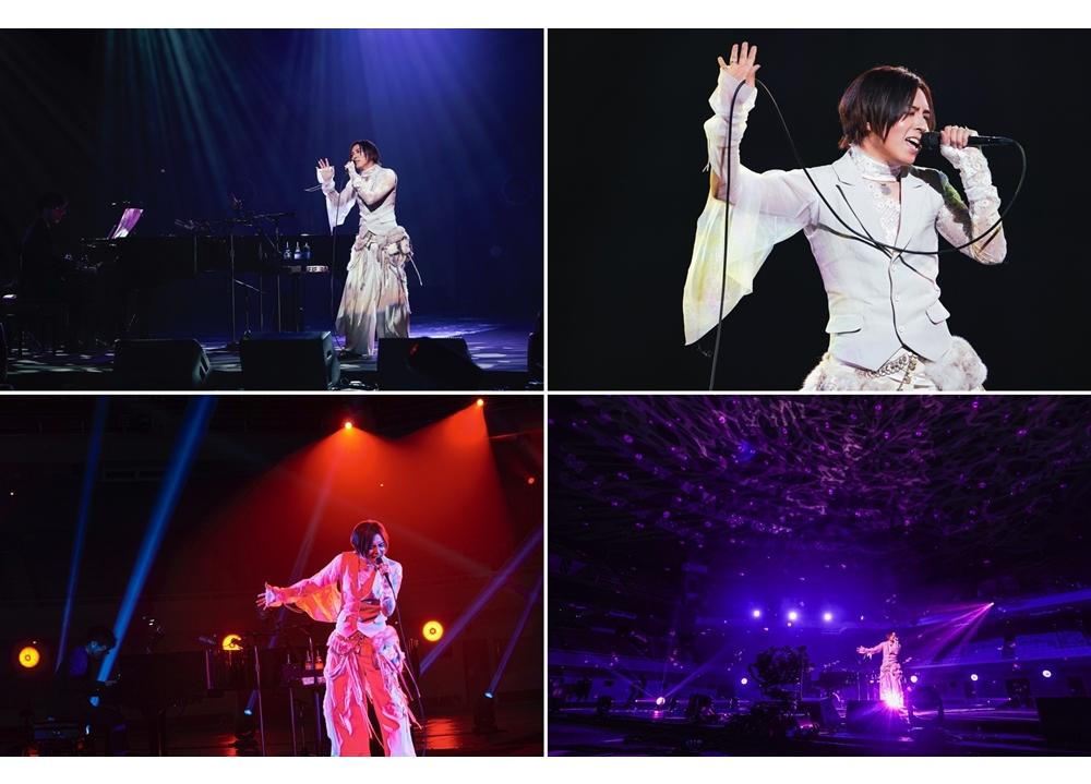 「蒼井翔太 ONLINE LIVE at 日本武道館 うたいびと」公式レポート到着!