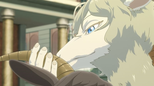 冬アニメ『BEASTARS』第2期:第22話より先行場面カット&あらすじ到着! ハルと二人きりになり、レゴシは己の欲望と戦うが……
