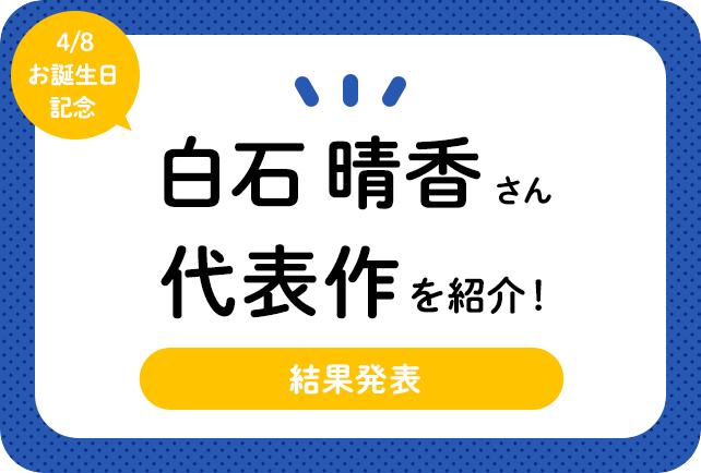 声優・白石晴香さん、アニメキャラクター代表作まとめ(2021年版)