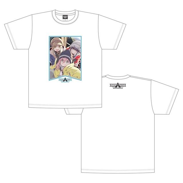 ▲STAY△TENT Tシャツ 白野クル (M・L・XL) 4,200円