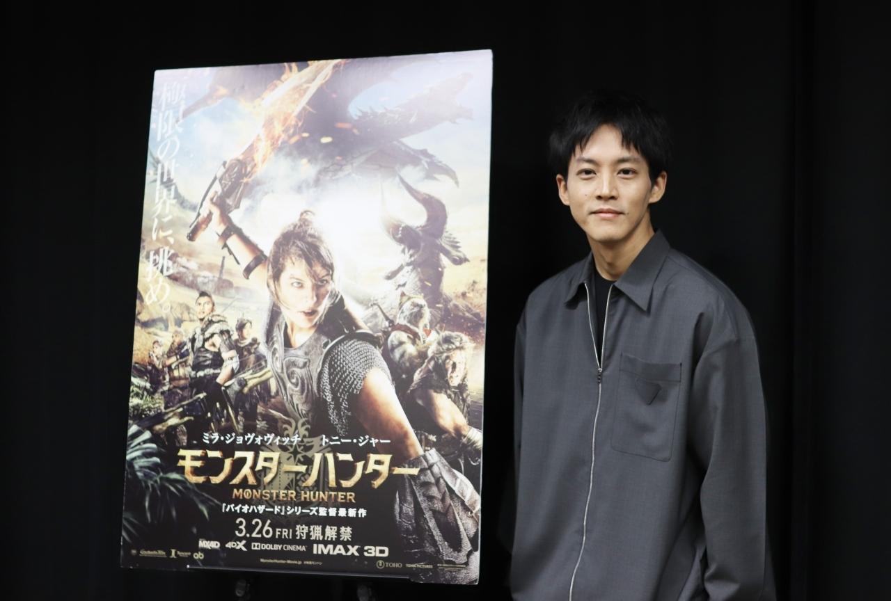 映画『モンスターハンター』松坂桃李インタビュー