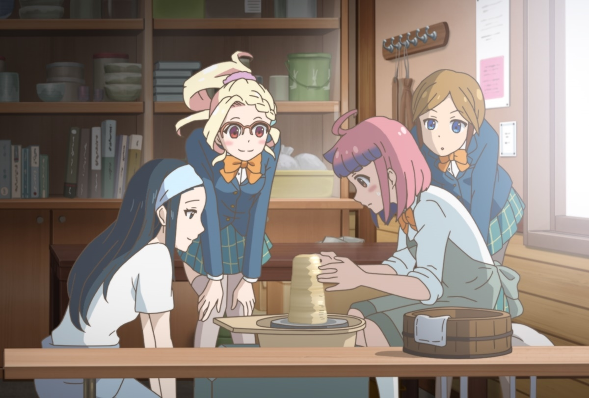 春アニメ『やくならマグカップも』アニメ・実写パート場面カット解禁