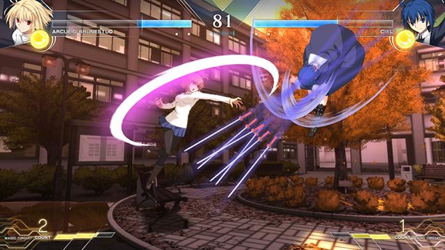 2D対戦格闘ゲーム『MELTY BLOOD: TYPE LUMINA(メルティブラッド:タイプルミナ)』が2021年に発売決定! メインビジュアル、キャラクター立ち絵、ゲーム画面が公開
