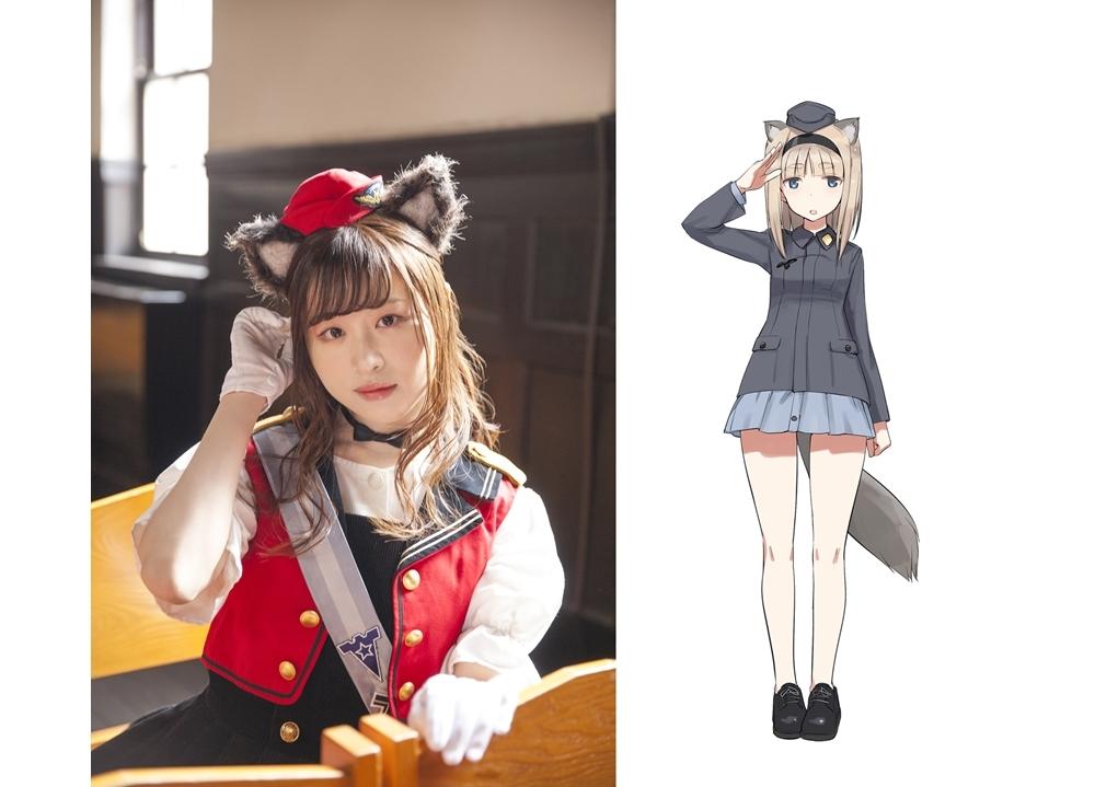 TVアニメ『連盟空軍航空魔法音楽隊 ルミナスウィッチーズ』追加声優・古仲可奈が決定!