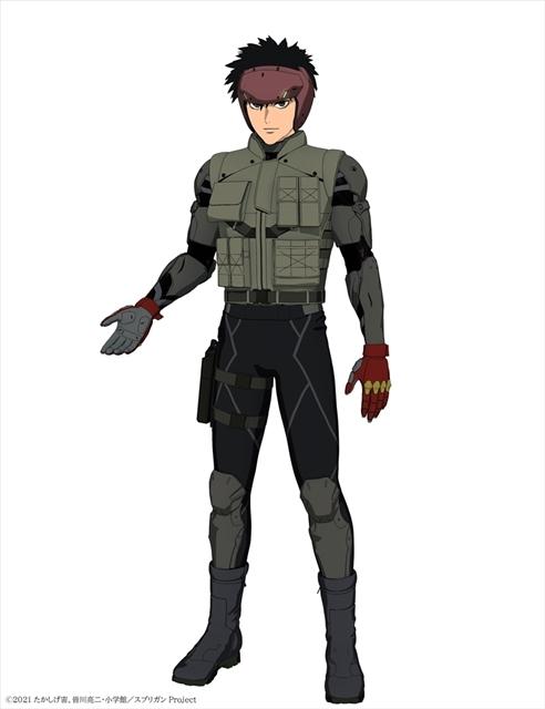 Netflixオリジナルアニメシリーズ『スプリガン』声優・小林千晃さんが主人公・御神苗優役に決定! コメント&キャラビジュアルも公開-2