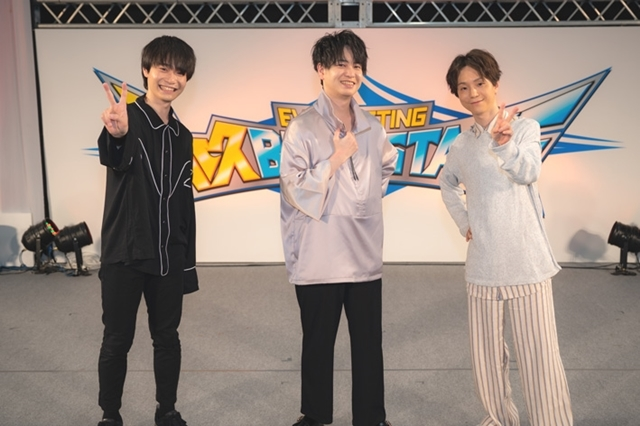 ▲左より佐藤元さん、小林裕介さん、河西健吾さん