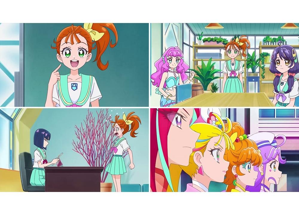 TVアニメ『トロプリ』第6話「今はじまる! その名は、トロピカる部!」の先行カット到着!