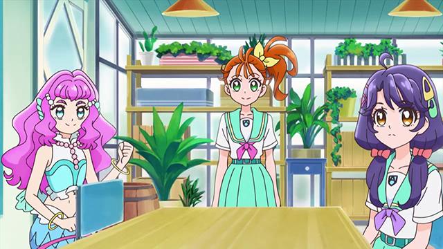 TVアニメ『トロピカル~ジュ!プリキュア』第6話「今はじまる! その名は、トロピカる部!」の先行カット到着! 声優・徳井青空さん・福原綾香さんのコメントも公開