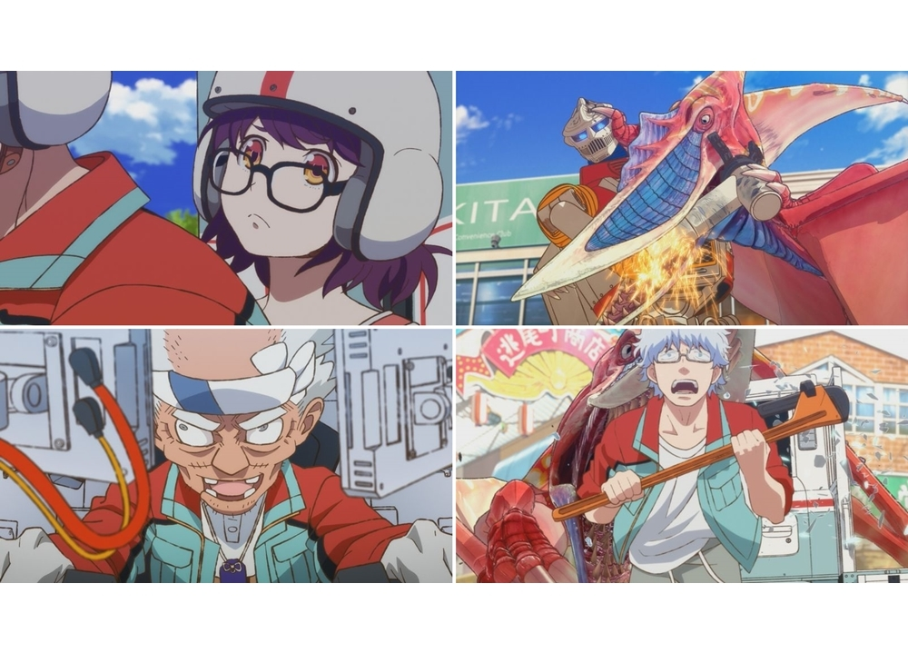 春アニメ『ゴジラ S.P <シンギュラポイント>』第2話「まなつおにまつり」の先行カット公開!