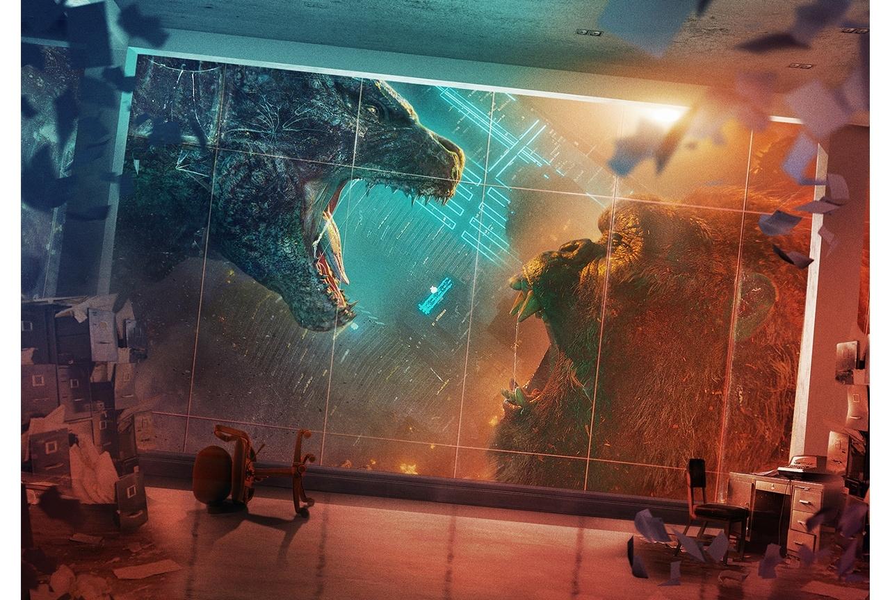 映画『ゴジラvsコング』が全世界で週末興行ランキングNO.1を獲得