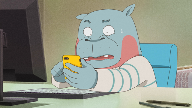 春アニメ『オッドタクシー』より、第2話「長い夜の過ごし方」のあらすじ&先行場面カットが公開!-4