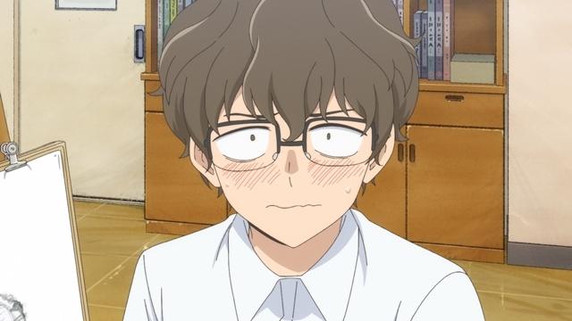 春アニメ『イジらないで、長瀞さん』第1話の先行場面カット&あらすじ到着! 地味で気弱なオタク男子高校生〝センパイ〟に興味を持って近づいてくる女子が一人……