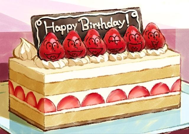 ▲公開されたお誕生日特別イラスト