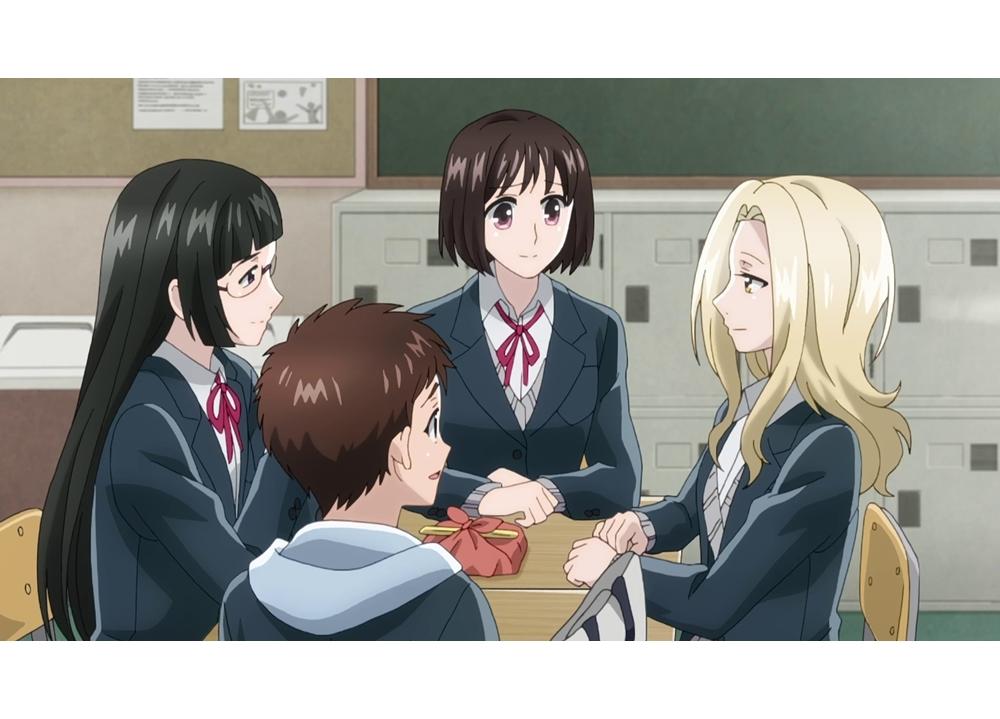 春アニメ『恋と呼ぶには気持ち悪い』第4話「聖なる夜に」の先行カット到着!