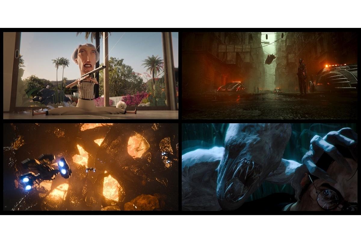 Netflixオリジナルシリーズ『ラブ、デス&ロボット』予告映像が公開