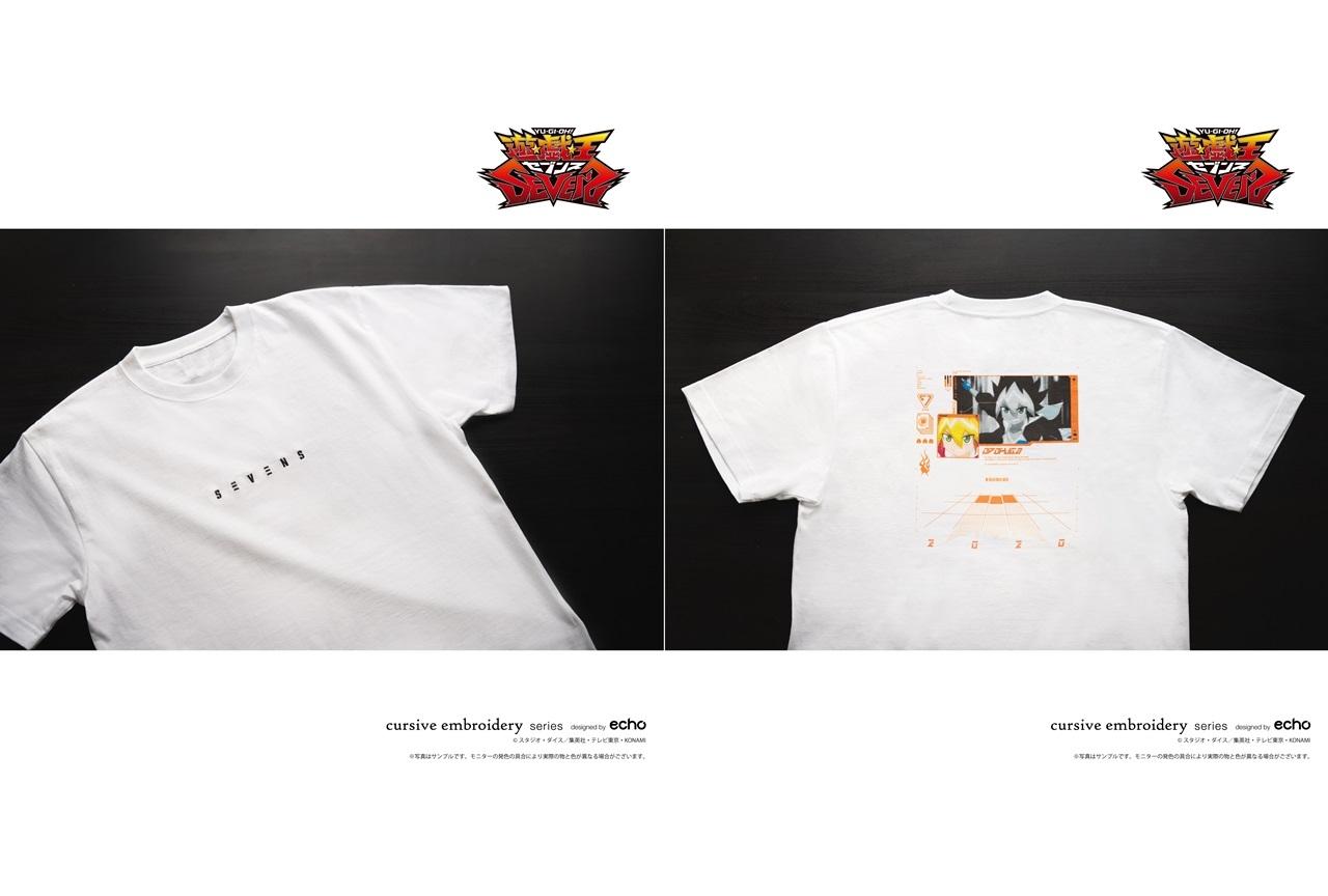 TVアニメ『遊☆戯☆王SEVENS』のTシャツが登場