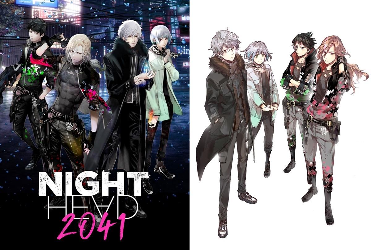 夏アニメ『NIGHT HEAD』漫画連載、小説化、舞台化決定