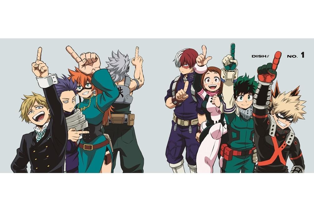 春アニメ『僕のヒーローアカデミア』第5期OPテーマCDジャケット公開
