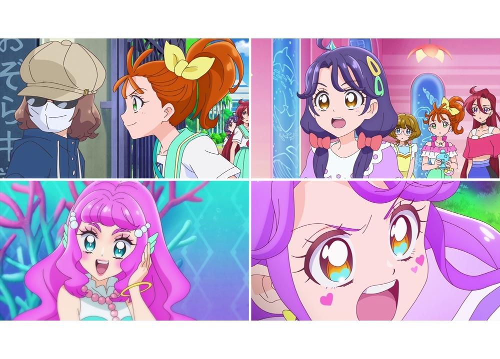 TVアニメ『トロプリ』第9話「メイクは魔法? 映画でトロピカる!」より先行カット到着!