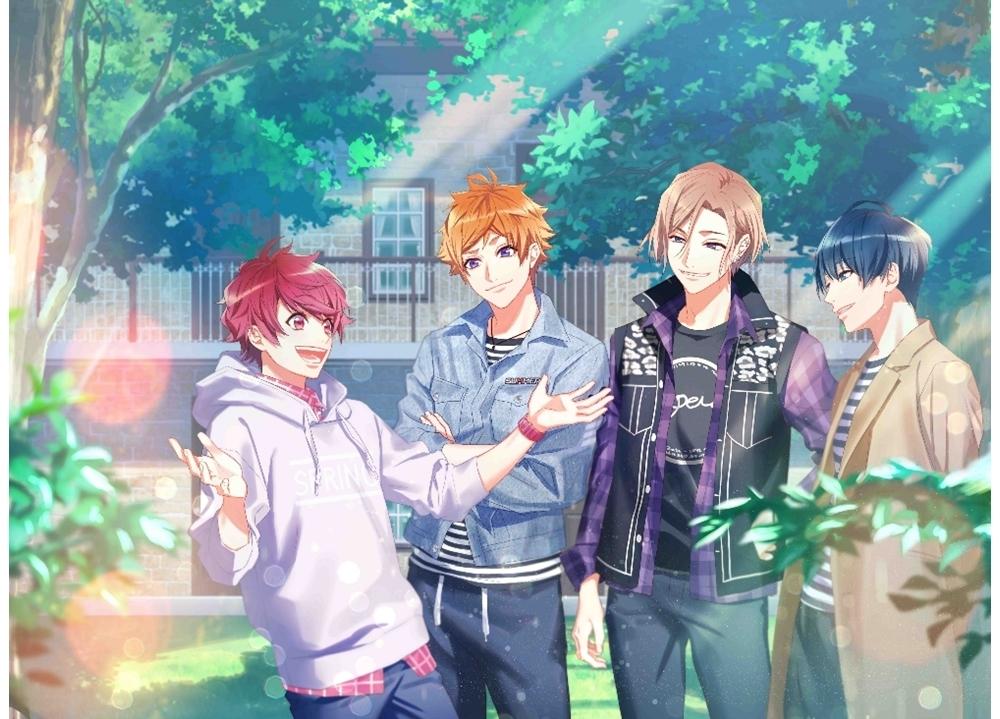 イケメン役者育成ゲーム『A3!』各組ミニアルバム第5弾「SUNNY EP」シリーズ発売決定!