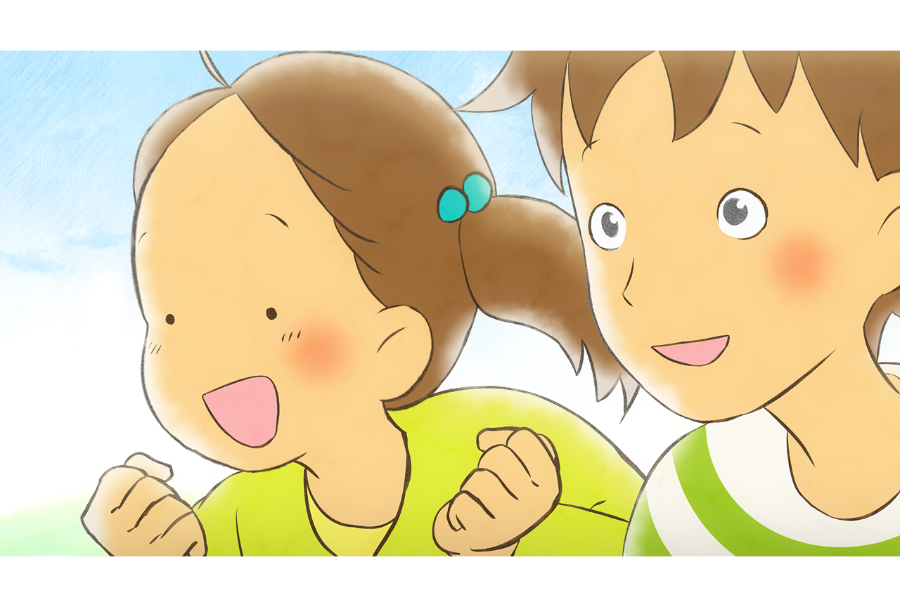 短編アニメ『青い羽みつけた!』第2話の場面カットが公開