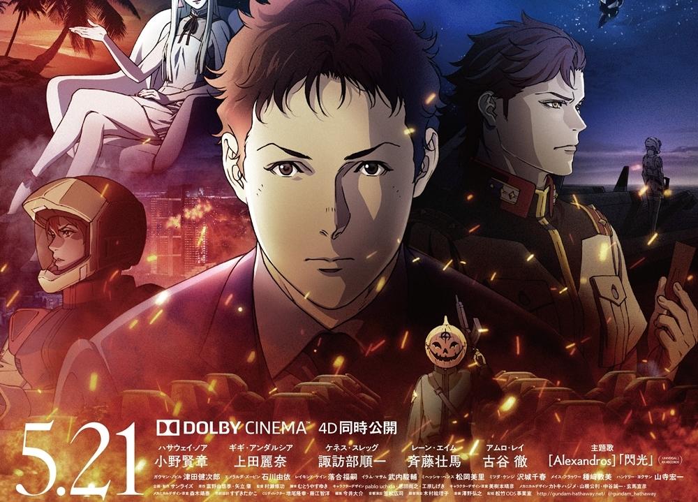 アニメ映画『機動戦士ガンダム 閃光のハサウェイ』5月21日へ公開日変更