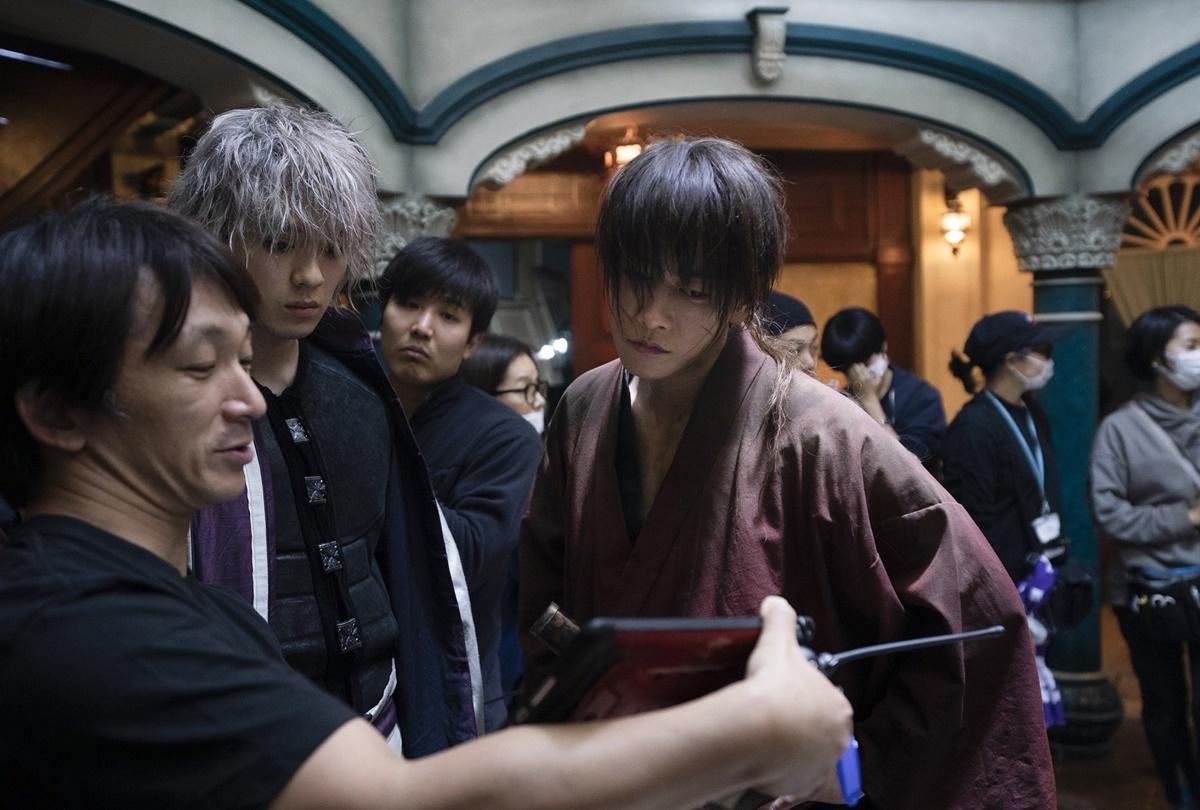 映画『るろうに剣心 最終章』超絶アクションレーニング映像解禁