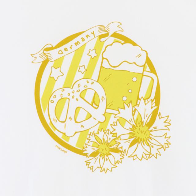 『ヘタリア World★Stars』から、イタリアやドイツ、日本などのキャラクターをイメージしたTシャツ(全8種)が6月19日頃発売決定!-4