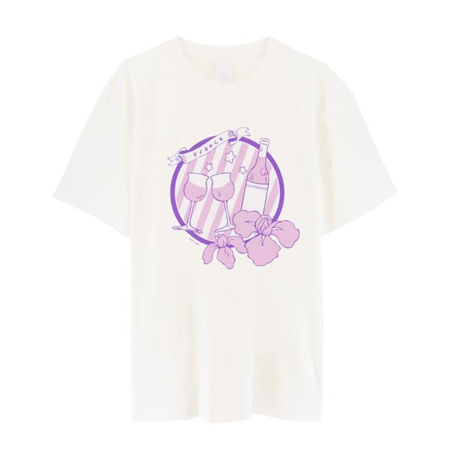 『ヘタリア World★Stars』から、イタリアやドイツ、日本などのキャラクターをイメージしたTシャツ(全8種)が6月19日頃発売決定!-11