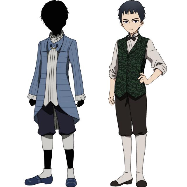 ▲ジョン(左)/ショーン(右) CV:酒井広大