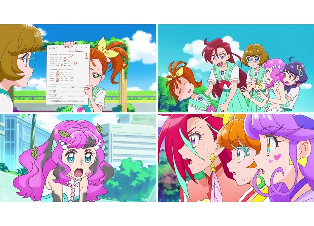 TVアニメ『トロプリ』第10話「やる気重ねて! プリキュア!ミックストロピカル!!」より先行カット到着!
