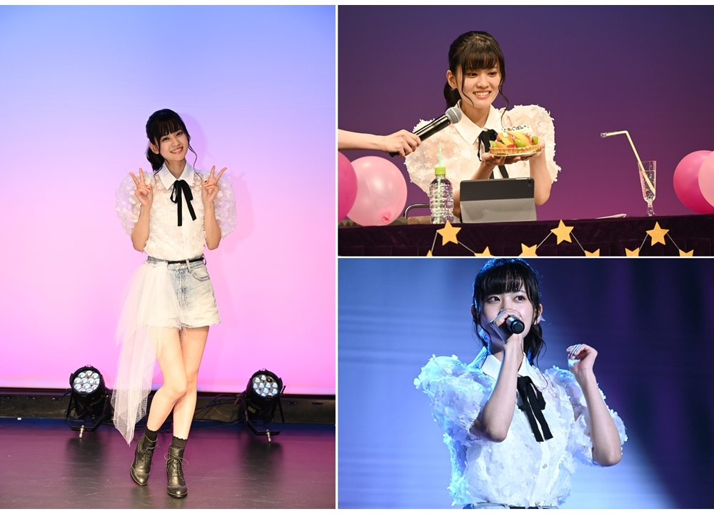 声優・大西亜玖璃の1stシングル発売記念、Birthdayイベの公式レポ到着!