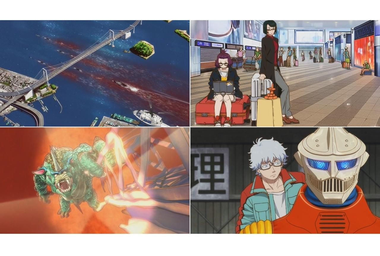春アニメ『ゴジラ S.P』第7話あらすじ・先行カット公開