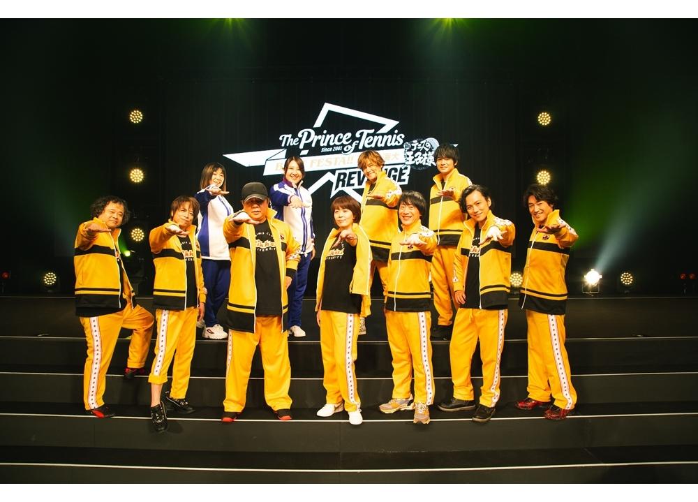 「テニプリ BEST FESTA!!王者立海大 REVENGE」より公式写真が到着