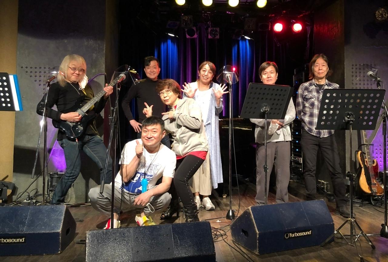 A four(三ツ矢雄二、田中真弓、冨永みーな、松野太紀)「昭和歌謡曲歌い隊」レポート