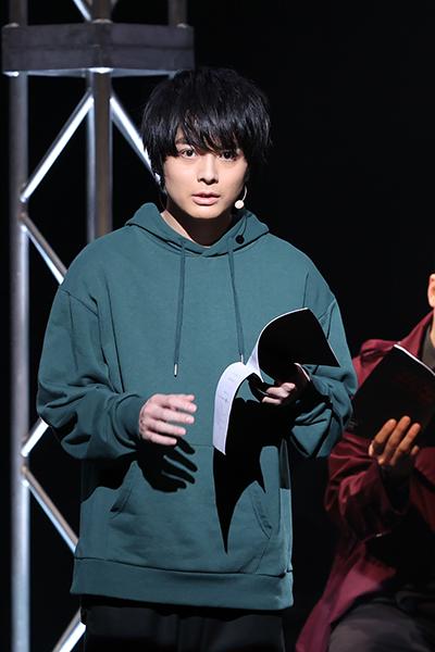 ▲実力ある探偵ナガレ(キャスト:榎木淳弥)