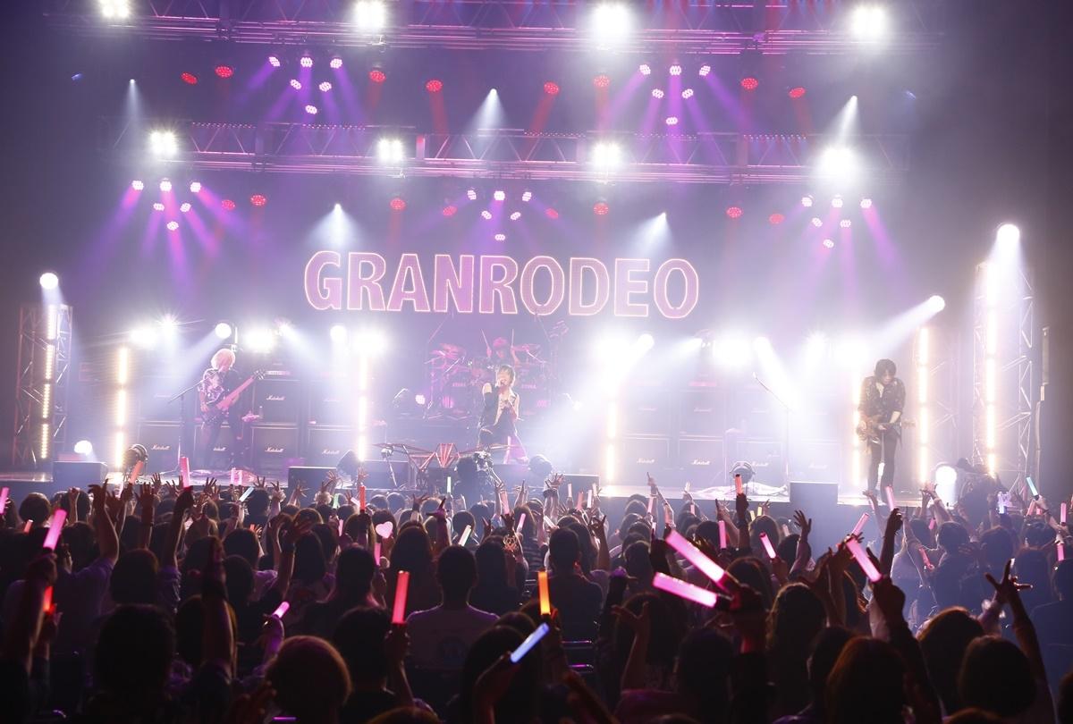 "「GRANRODEO LIVE 2021 ""Rodeo Coaster""」ライブレポート到着"