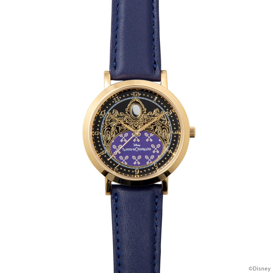 『ディズニー ツイステッドワンダーランド』式典服モチーフの腕時計が登場! 裏面のデザインは寮章やキャラクターのマークなど全30種類-6