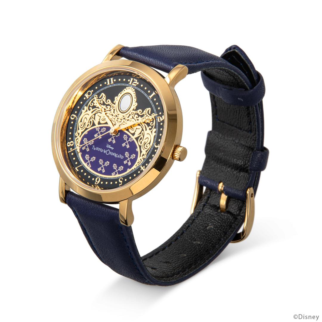 『ディズニー ツイステッドワンダーランド』式典服モチーフの腕時計が登場! 裏面のデザインは寮章やキャラクターのマークなど全30種類-7