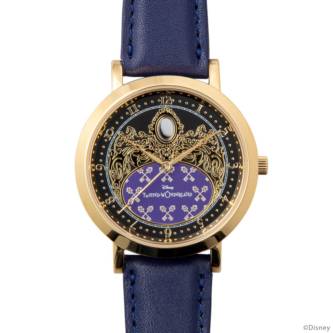 『ディズニー ツイステッドワンダーランド』式典服モチーフの腕時計が登場! 裏面のデザインは寮章やキャラクターのマークなど全30種類-8