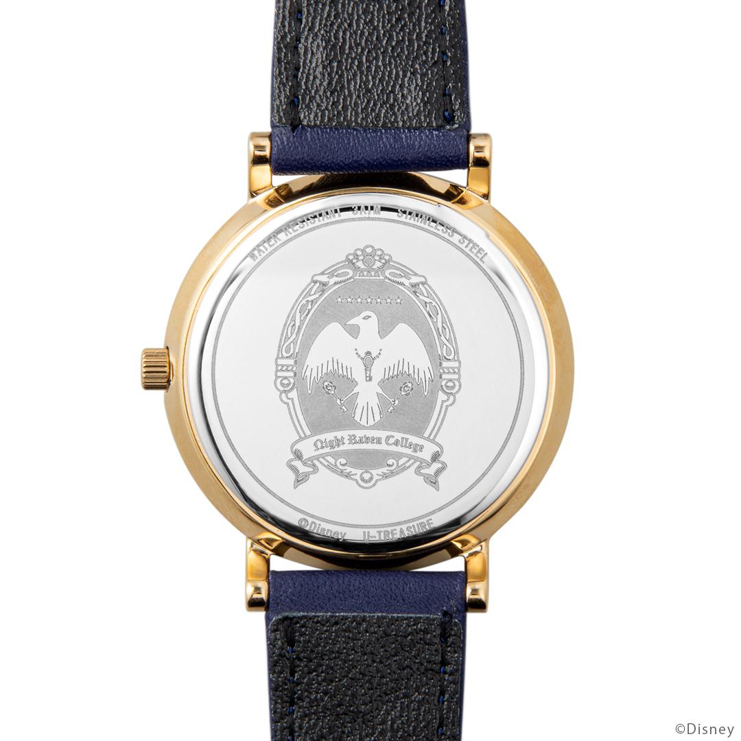 『ディズニー ツイステッドワンダーランド』式典服モチーフの腕時計が登場! 裏面のデザインは寮章やキャラクターのマークなど全30種類-9