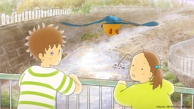 短編アニメ『青い羽みつけた!』第6話「やっと見つけた!水辺の狩人カワセミ」のあらすじ・先行カットが到着! 追加出演声優として小野賢章さんが発表!