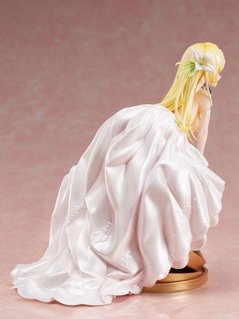 『異世界魔王と召喚少女の奴隷魔術Ω』より、「レム・ガレウ」&「シェラ・L・グリーンウッド」がウエディングドレス姿でフィギュア化!【今なら18%OFF!】-20
