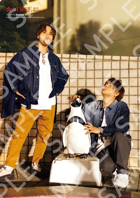 声優の仲村宗悟さん&中島ヨシキさんが2ショットを飾る「TVガイドVOICE STARS vol.18」表紙解禁! アニメイト特典画像のほか、全ラインナップも初公開-3