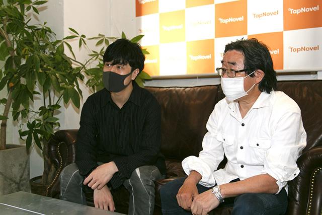 ▲左から遠藤彰二さん、富田祐弘さん