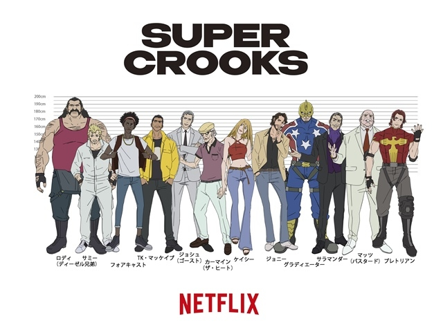 CLAMPがキャラクターデザインを務める『グリム』プロジェクトをはじめ、『テルマエ・ロマエ ノヴァエ』『スーパー・クルックス』『ウィッチャー 狼の悪夢』Netflixアニメの最新情報が公開!